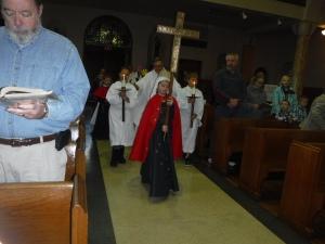 All Saints Procession