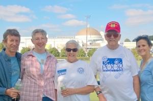 Al and Maureen Daniels, Carole, Jim and Mary Haislip