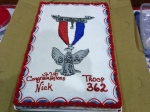Nick's cake.