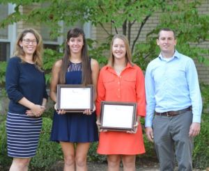 Watlow Scholar and Parishioner, Ellie Lunte (2nd from right)