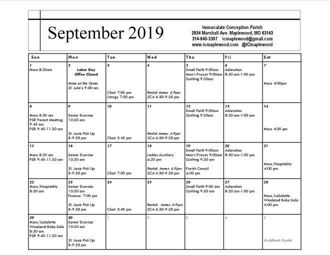 September, 2019