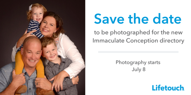 Lifetouch save the date 2020