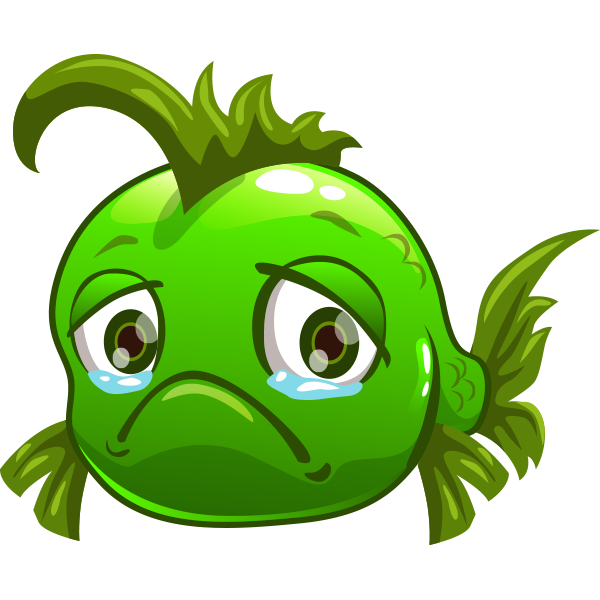 sad-green-fish-sticker